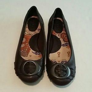 Born Shoes - B. O. C born  leather flats