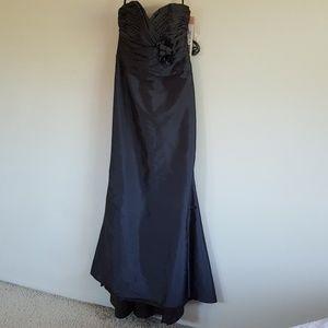 Alvina Valenta Dresses & Skirts - Alvina Valenta Graphite Wedding Gown