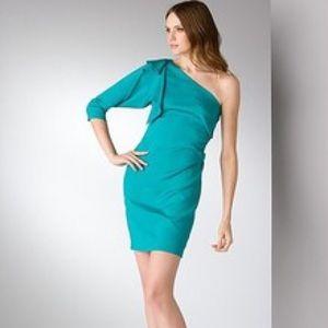 Diane Von Furstenberg Dresses & Skirts - DVF Cobb Stretch Silk One Shoulder Dress