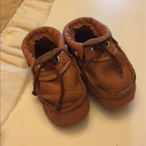 Other - Custom Leather Baby Moccasins
