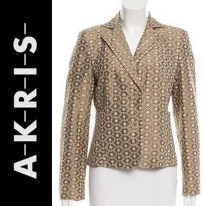 Akris Jackets & Blazers - Akris Silk Eyelet Blazer