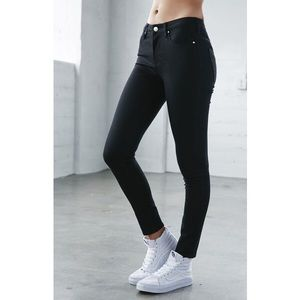 PacSun Denim - Black High Waisted Skinny Jeans