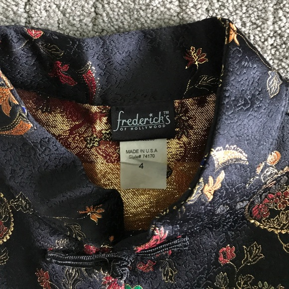 Frederick's of Hollywood Tops - Mandarin style top