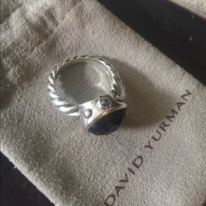 David Yurman Jewelry - David Yurman 'Renaissance' Ring - Black Onyx
