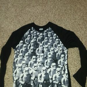 Star Wars Tops - SUPER COOL ONE OF A KIND STAR WARS 2XL LONG SLEEVE