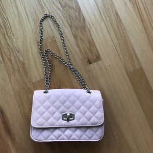 Express Handbags - Chanel dupe chain strap quilted bag