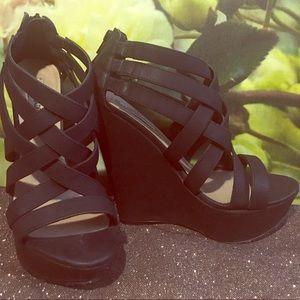Steve Madden Xcess Platform Wedge Sandals