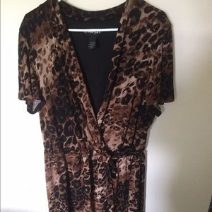 Lane Bryant Dresses & Skirts - Leopard Dress