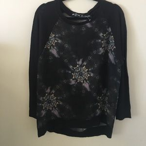Hot Topic dream catcher/wolf sweater top