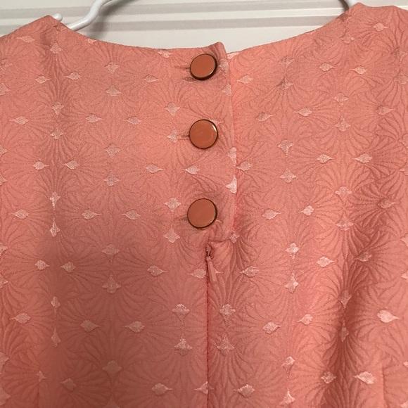 The Limited Dresses - Peach knee length Limited sheath dress