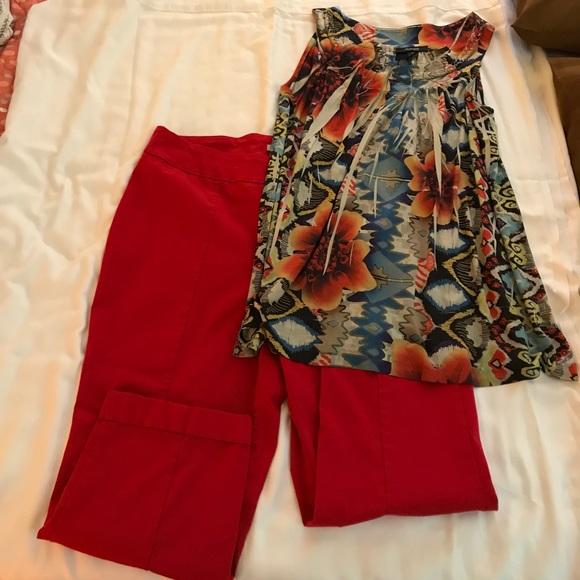 f39b9e226fc ❤️Dalia Plus size Capri pants! Excellent condition