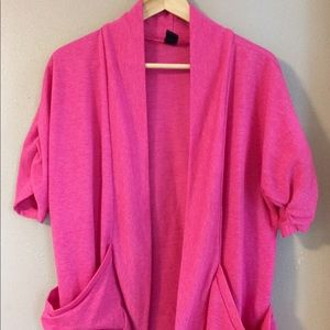Joe Boxer Tops - Joe Boxer Open Cardigan Elbow Sleeve L EUC