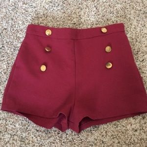 Timing Pants - Garner high waisted shorts