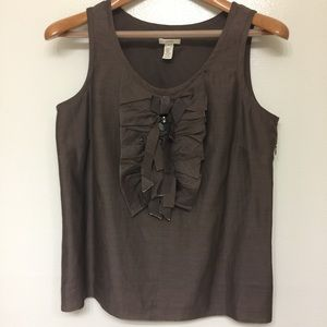J.CREW top women sleeveless blouse
