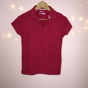Austin Clothing Co. Other - Girls Red Uniform Polo