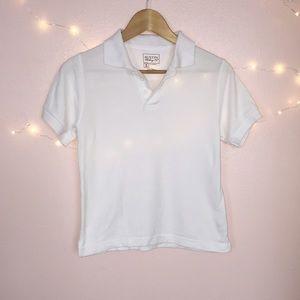 Austin Clothing Co. Other - Girls White Uniform Polo