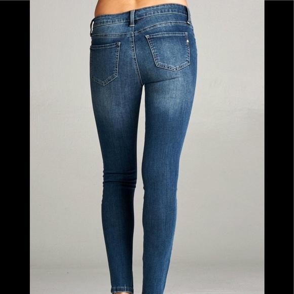 ef31f6974174 Special A Distressed Skinny Jeans. M 5946de457f0a057da7015693