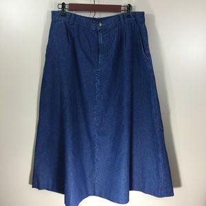 Orvis Dresses & Skirts - Jean skirt