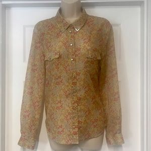 Two by Vince Camuto Tops - Vince Camuto Button down western blouse