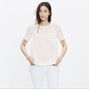 Madewell industry button back top
