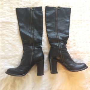Fiorentini + Baker Round-Toe Knee-High Boots