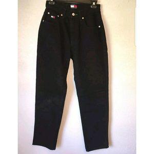 Tommy Hilfiger Denim - Tommy Hilfiger Vintage Mom Jeans Black Size 32