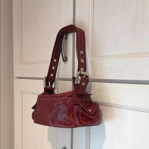 Francesco Biasia Handbags - Italian leather bag REDHOT!