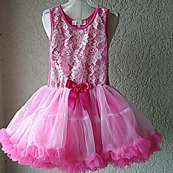 Popatu Girls/' Dress Pink