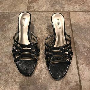 Never worn- Black low heel dress shoe