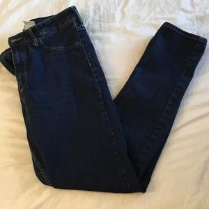 H&M Denim - High Waisted Skinny Ankle Length Denim Jeans