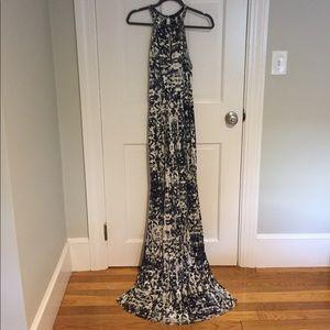 Parker beaded maxi dress size small