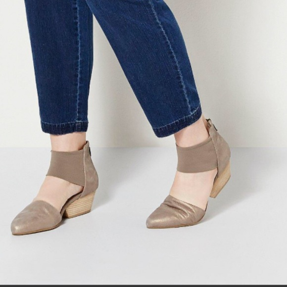 discount eastbay Eileen Fisher d'Orsay Suede Pumps low cost cheap online qHFMtp