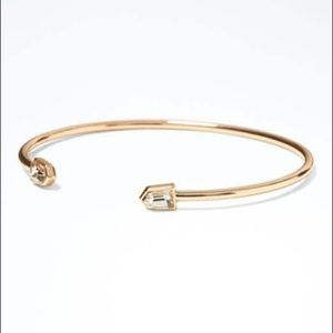 Banana Republic Delicate Shield Cuff Rose Gold