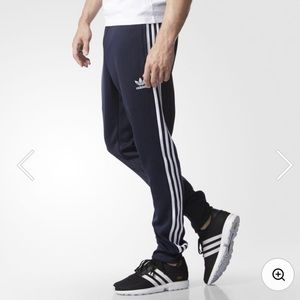 Adidas Superstar Cuffed Black Track Pant XL