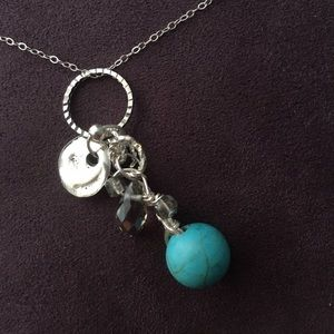 Jewelry - Sterling and Blue Malachite Necklace