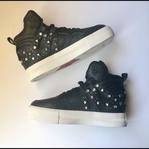 ASH black leather shoes ❤️❤️