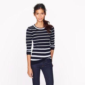 J. Crew Sweaters - j. crew multicolored stripe tippi sweater size XS