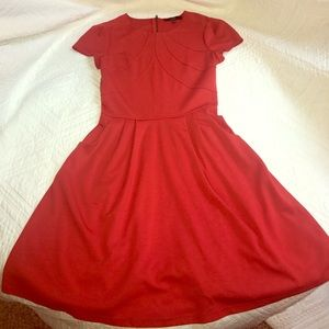 Alex Marie Dresses & Skirts - Alex Marie Dress with Pockets in Red