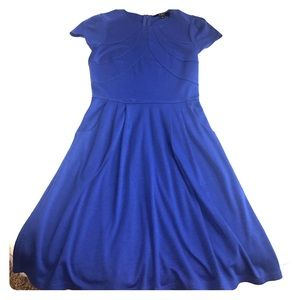 Alex Marie Dresses & Skirts - Alex Marie Dress with Pockets in Blue