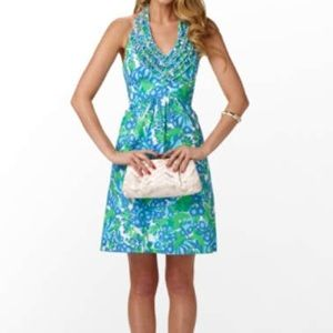Lilly Pulitzer Dresses & Skirts - Lilly pulitzer Lillian halter ruffle dress 0