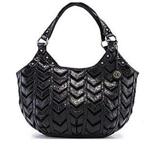 The Sak Handbags - The Sak chevron rider leather hobo bag