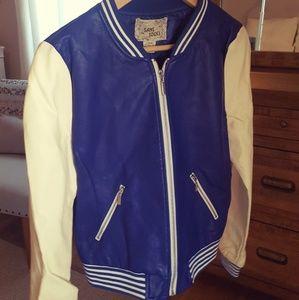 Jackets & Blazers - Blue Varsity Jacket