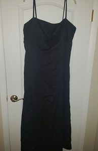 Dresses & Skirts - Formal black gown with beading