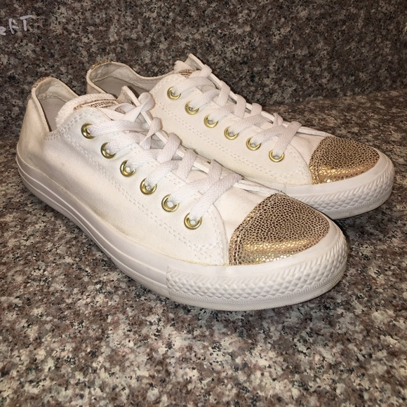65 converse shoes converse all white gold