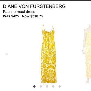Diane Von Furstenberg Dresses - Diane Von Furstenberg DVF Pauline Maxi