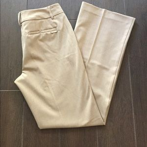 NY&Co Tan 7th Ave Trousers