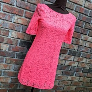Lilly Pulitzer Other - Pucker Pink Breakers Lace Little Topanga Dress