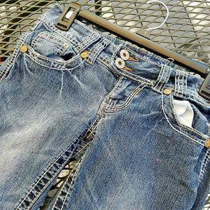 Angels Denim - Boot Cut Faded Jeans