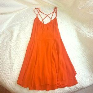 Copper Key Dresses & Skirts - NWOT Orange Dress By Coper key