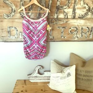 NWT one piece swimsuit with adjustable straps